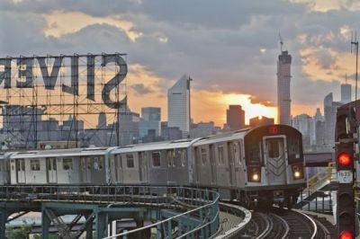 The # Seven train