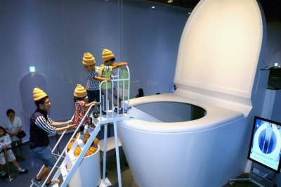 Exhibit for Japanese Toilets