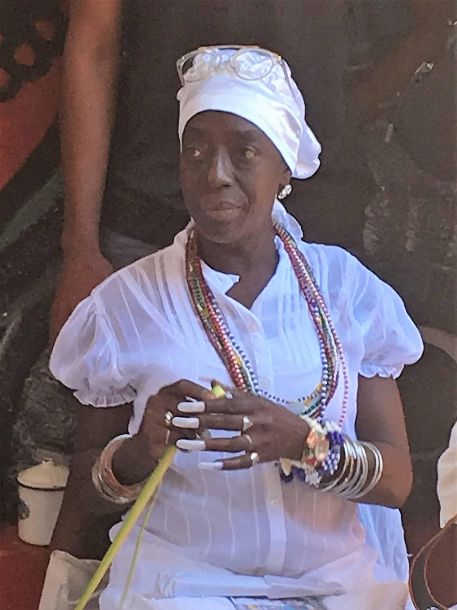 Santeria priestess