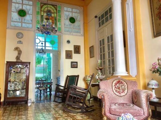 Enjoy a Santiago living room on your trip to Cuba
