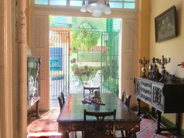 santiago casa dining room