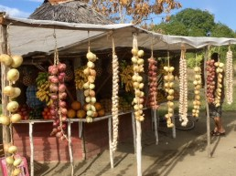 Holguin food bounty, as in all Cuban towns