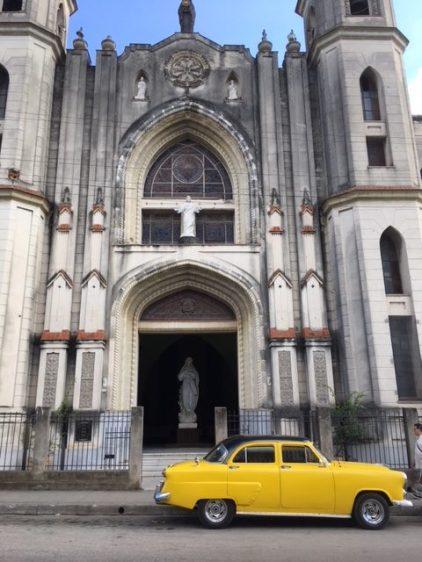Cuban towns have beautiful churches