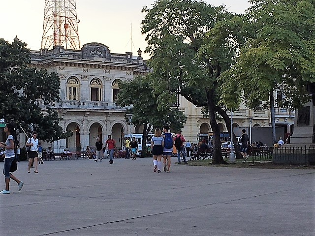 Central Plazas are common in Cuban towns