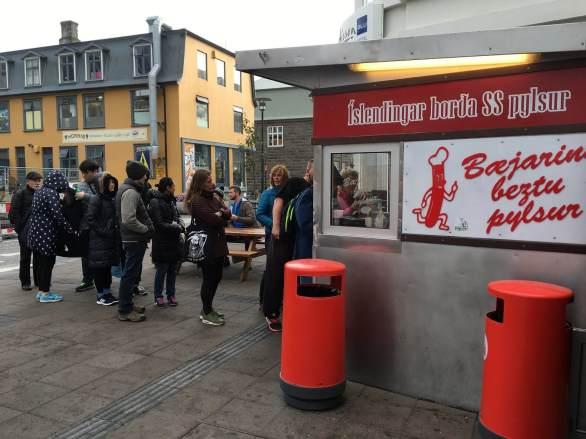 Street food in Reykjavik