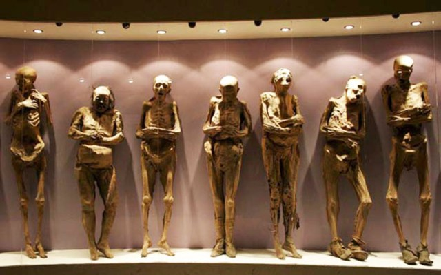 New displays for the mummies of Guanajuato