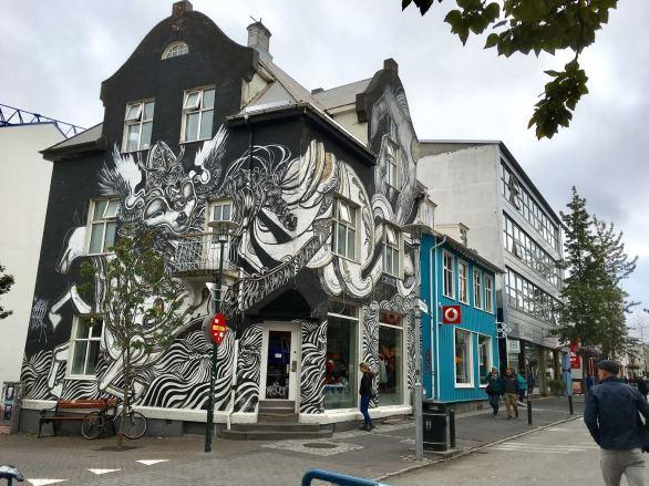 Street art in Iceland