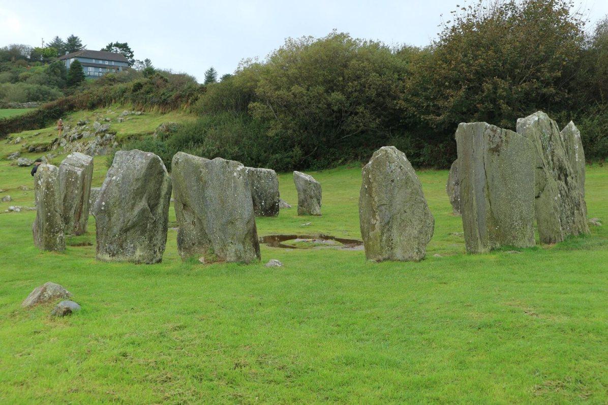 Irish stonehenge-type structure