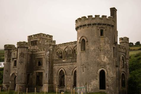 fall in love with Ireland and its castles