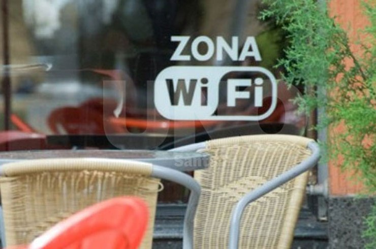Cafe with Wi-Fi in Cuba