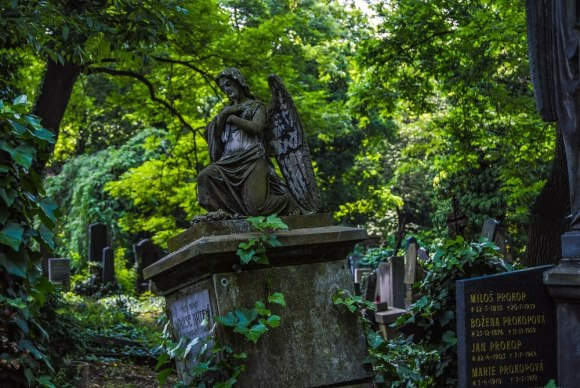 Prague has many unique European cemeteries