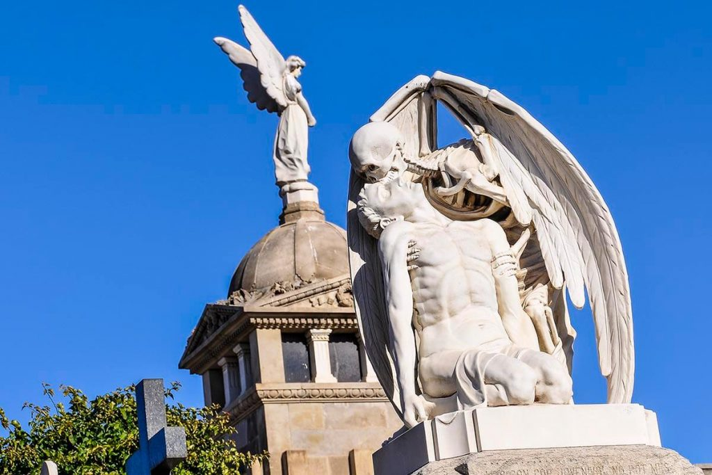 One of Spain's unique European cemeteries