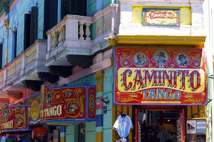 Buenos Aires tango bar