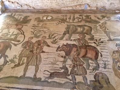 rinocerous mosaic