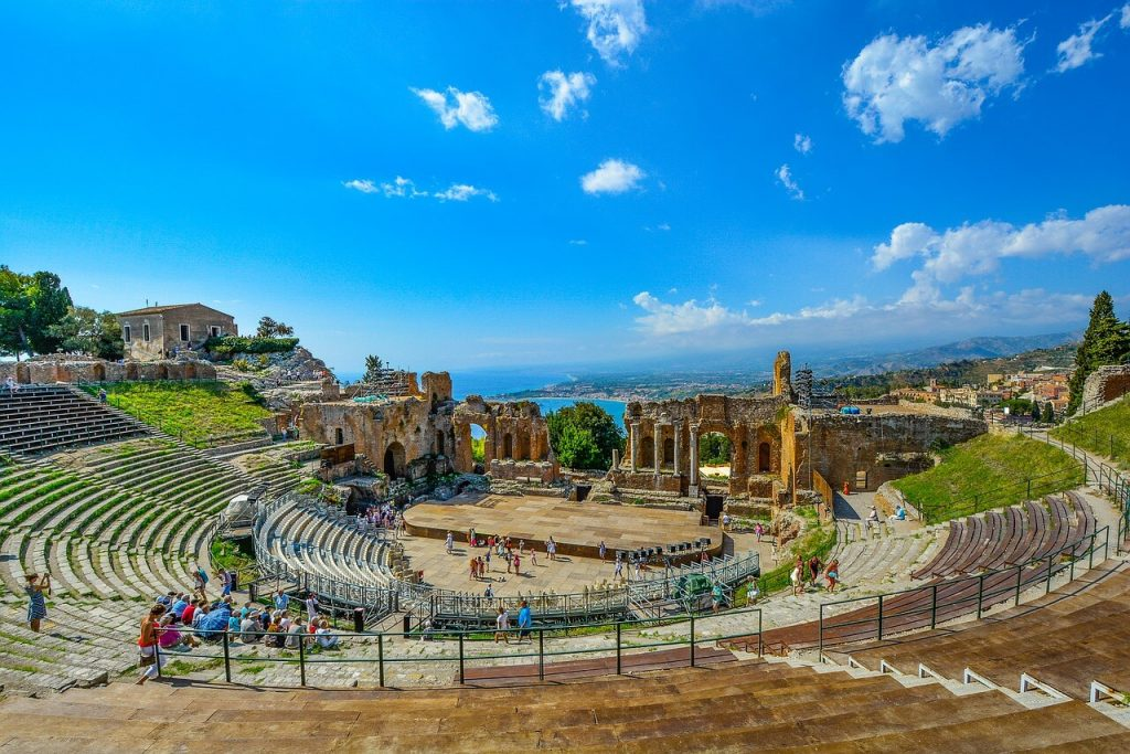 Taormina, a stop on the southern Italy road trip