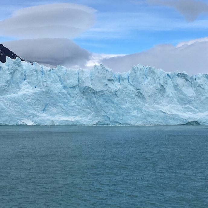 Perito Moreno glacier tours view from a boat provided by Perito Moreno Glacier tours