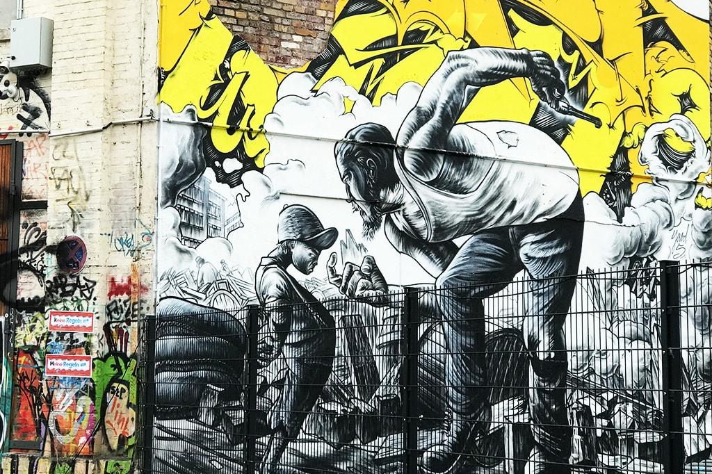 East Berlin, Germany Street Art