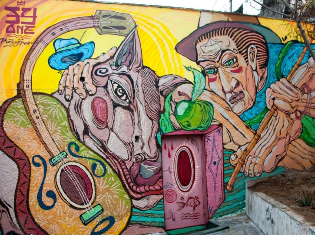 Barranco District Street Art
