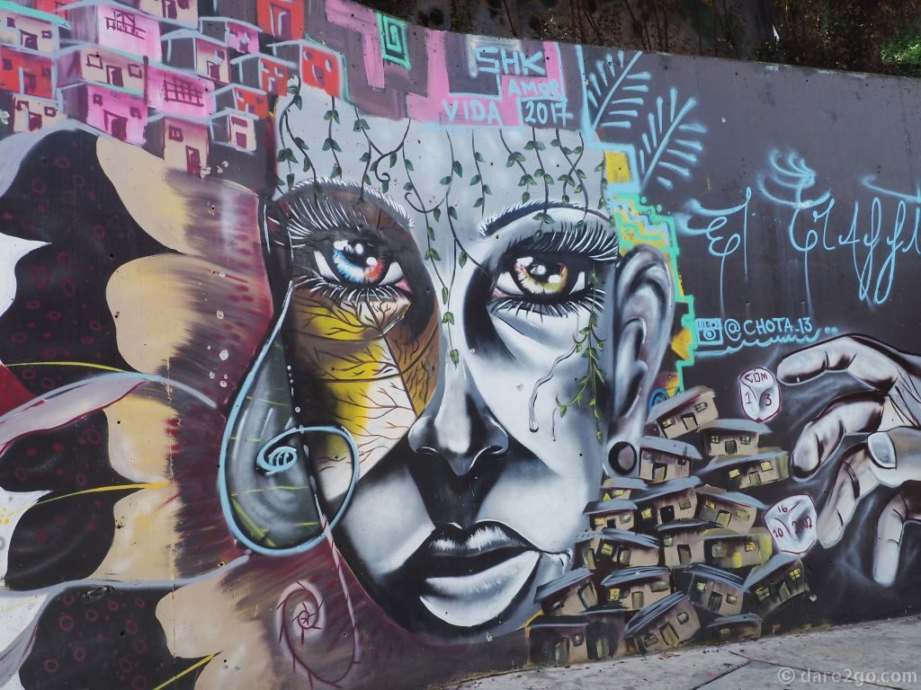 Great Street Art - Medellin