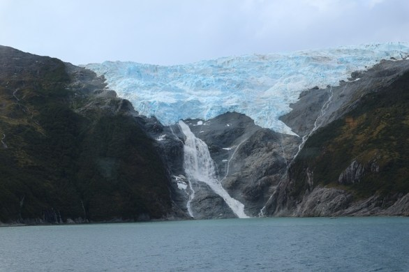 Glacier seen when you cruise Cape Horn and the Straits of Magellan