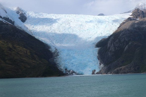 Glacier Alley iew on cruise Cape Horn and Straits of Magellan