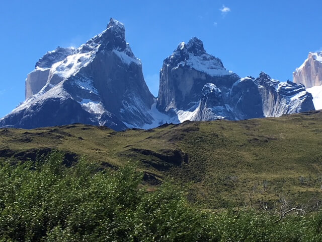 Torres del Paine National Park mountains