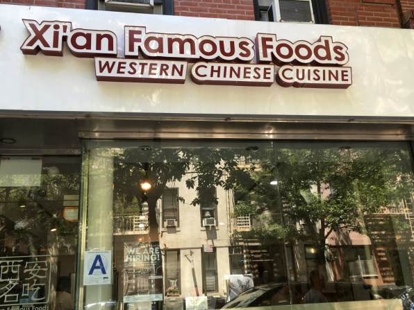 Authentic ethnic restaurants in New York City offer Xi'an food.