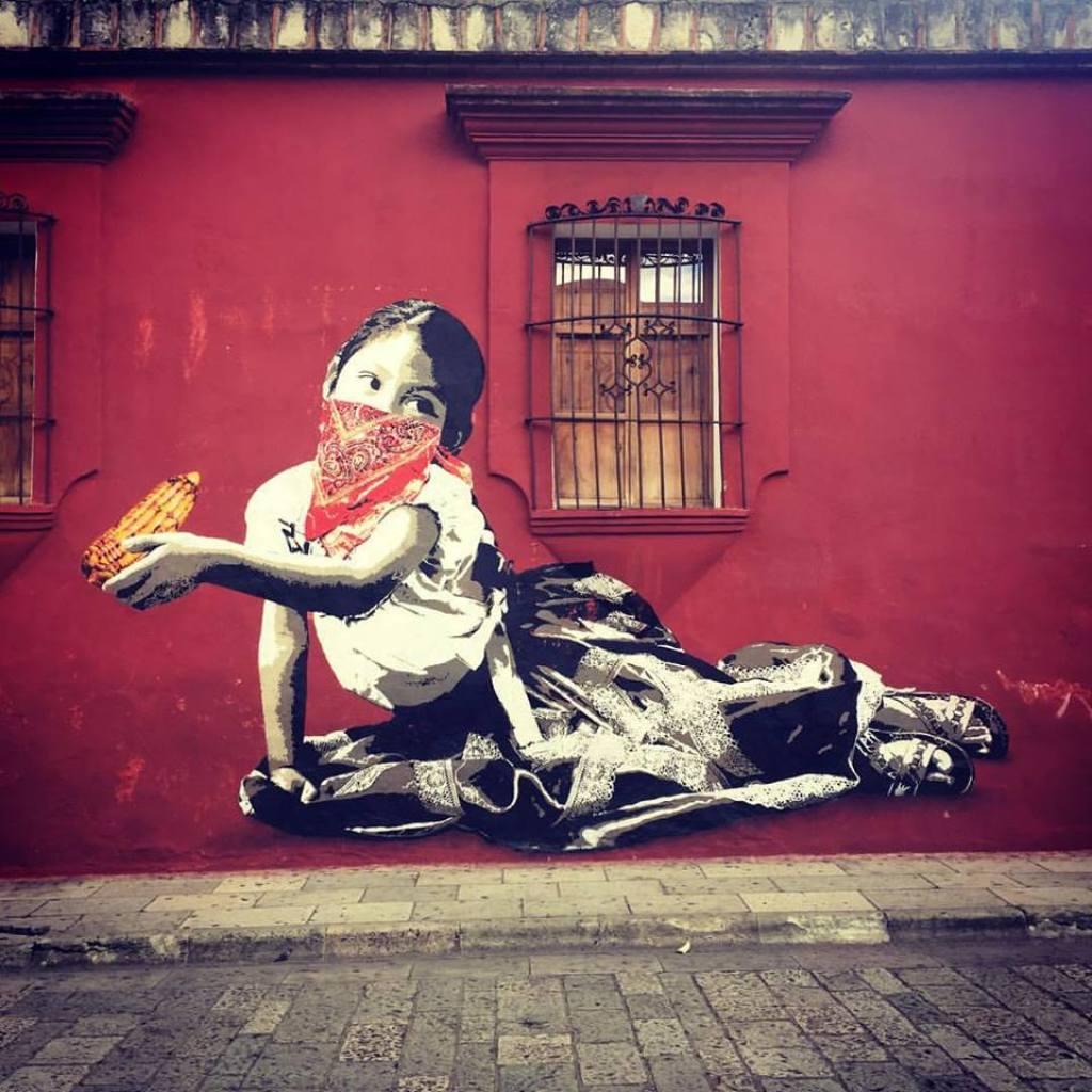 Street Art Graffiti Oaxaca