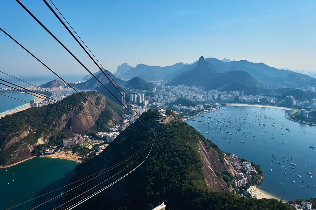 Travel addict loves Rio