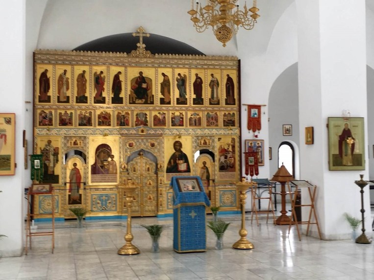 Gold dome in Orthodox church 1024