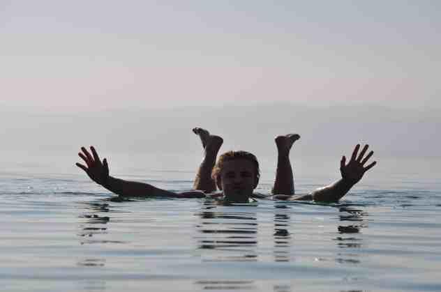 Dead Sea swim 2