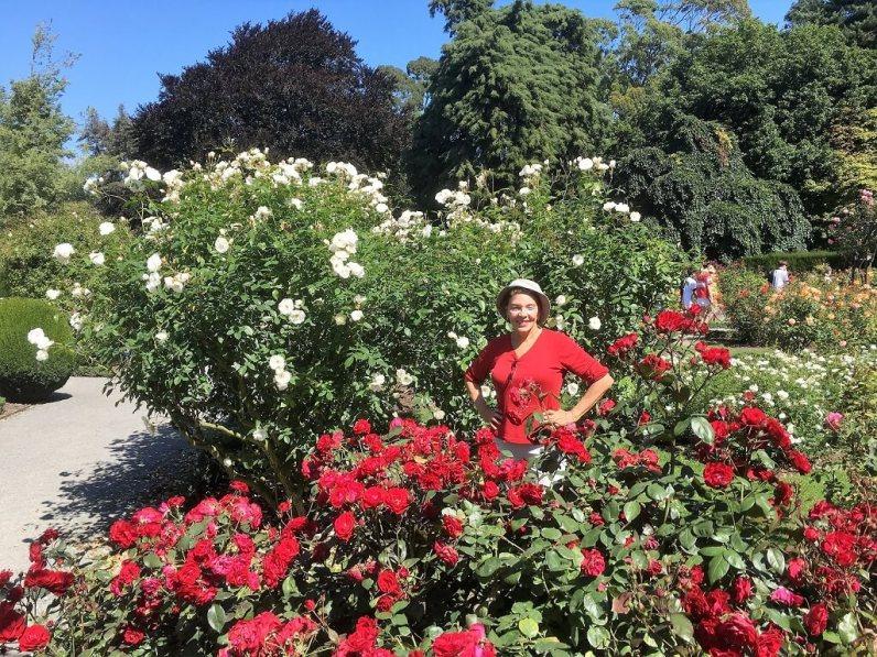Botanical gardens in Christchurch New Zealand