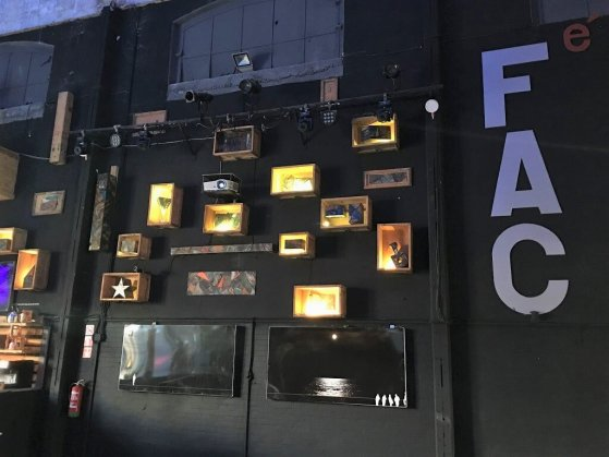 The F.A.C interior, part of the Cuba Cultural Tour