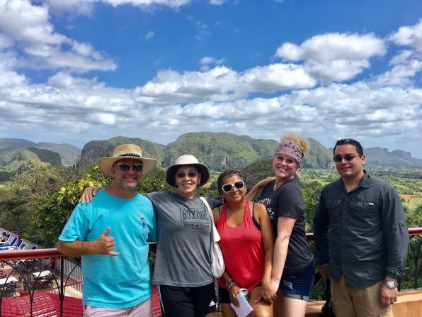In Vinales on our Cuba cultural tour