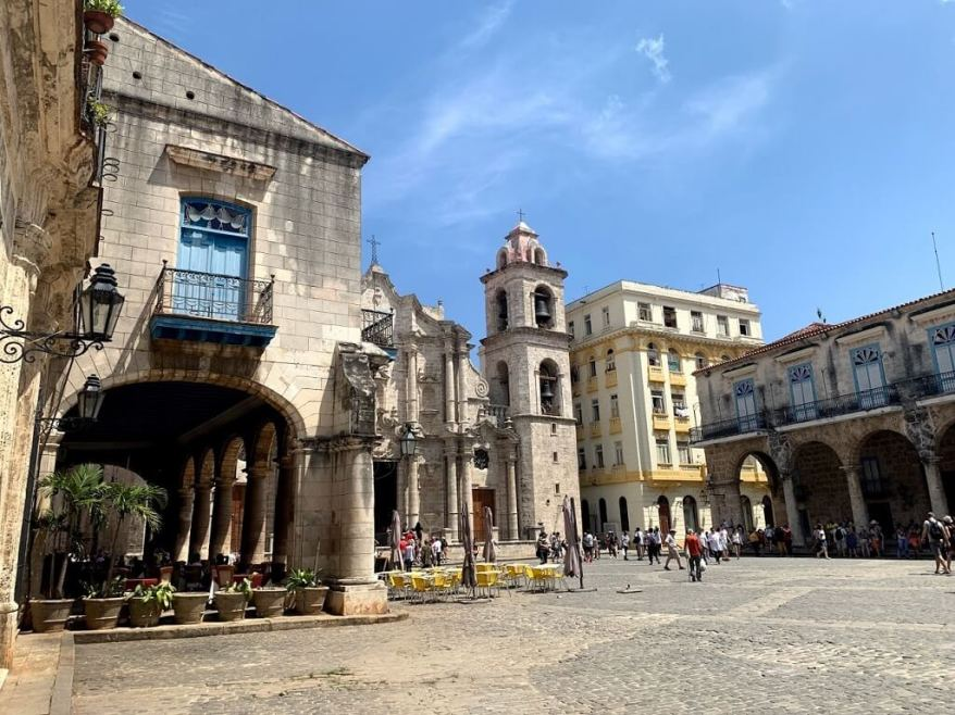 Cathdral Square in Havana, Cuba