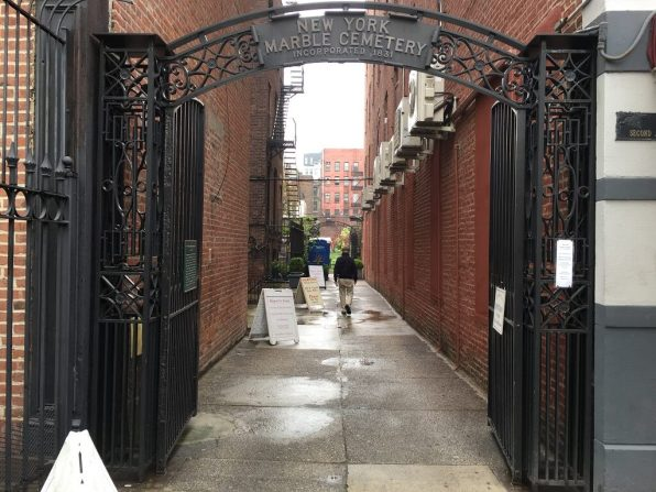 Access to the NY Marble cemetery, one of the most underrated attractions in NYC