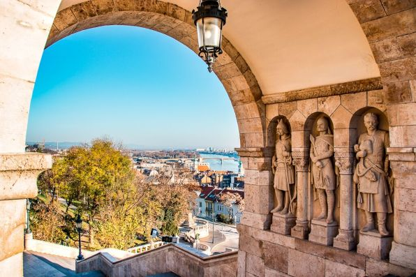 Fishermans Bastion. One of the things to see in Budapest