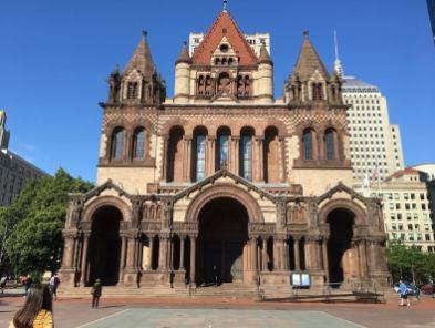 Trinity Church on Boston's Copley Square
