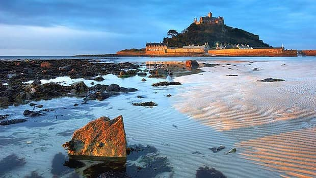 St Michael's Mount, home of the St. Aubyn Family