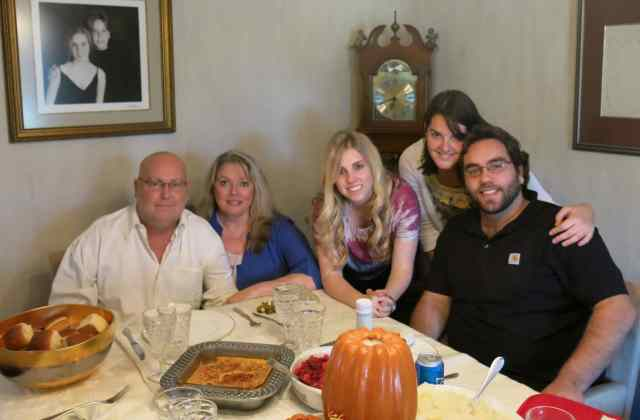 The happiest Thanksgiving ever, 2013!