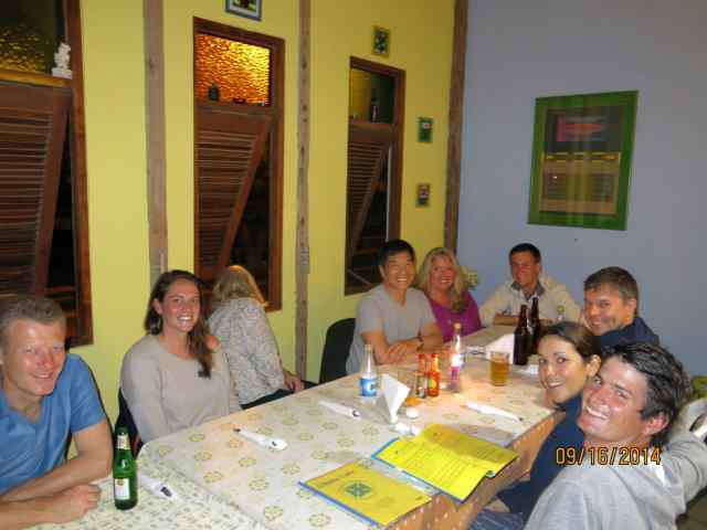 Meeting up with Marine Megafauna and volunteers