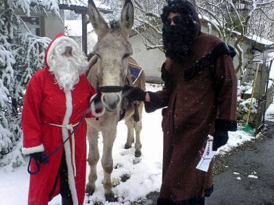 pere fouettard, french christmas traditions, christmas, pere noel, st nicholas