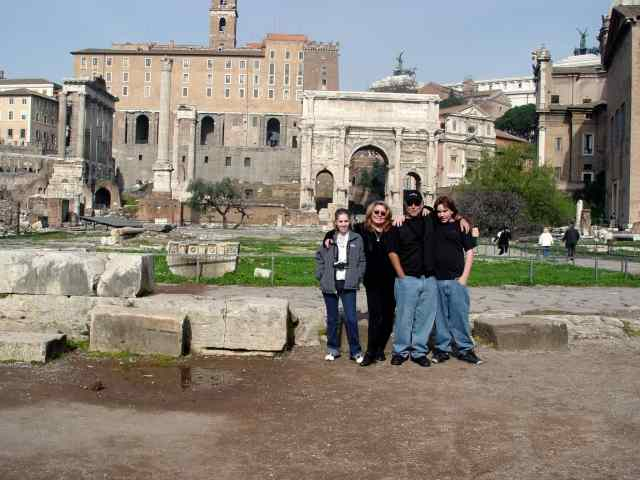 Our family in Ancient Rome