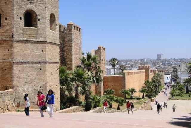 Morocco Kasbah Walls
