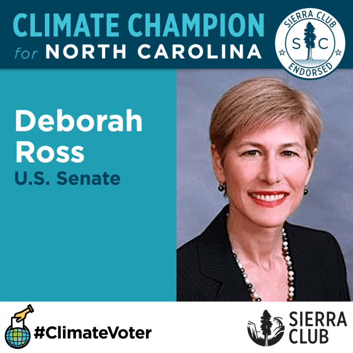 deborah-ross-climate-champion-senate-north-carolina