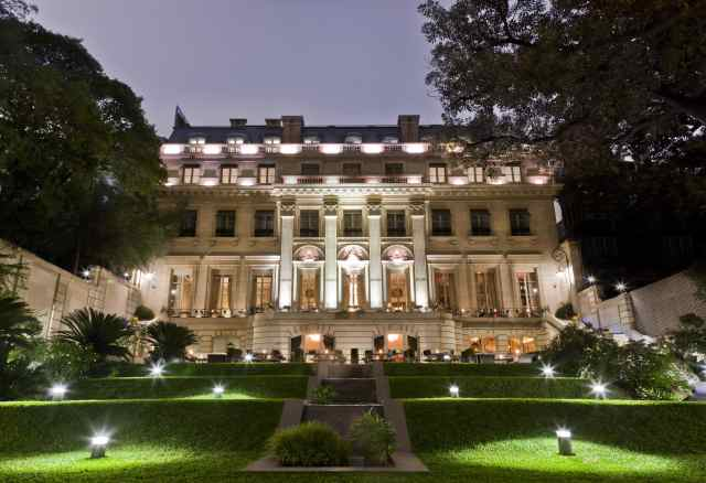 palacio duhau, park hyatt, buenos aires hotels
