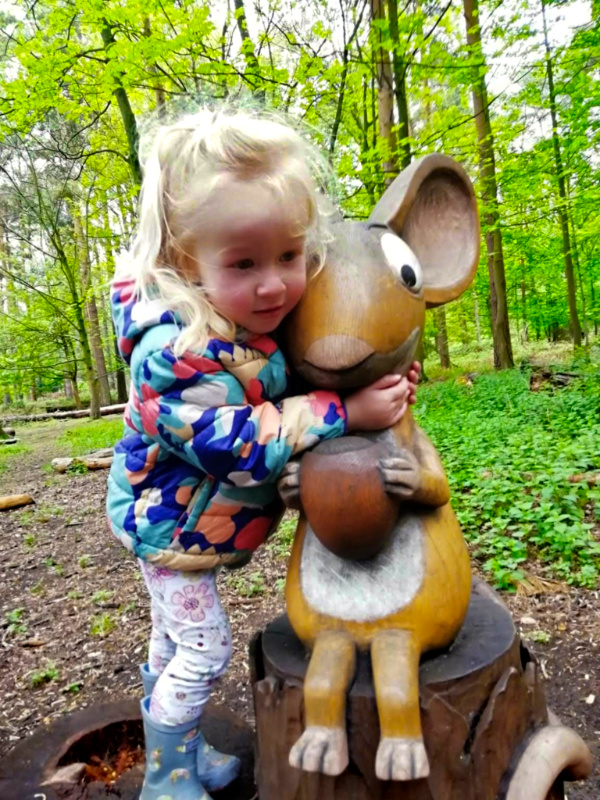 Thetford Forest Trails - The Gruffalo Trail mouse