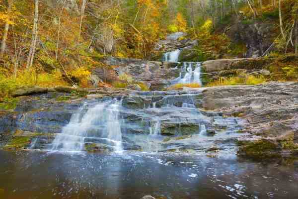 Kent, Connecticut fall