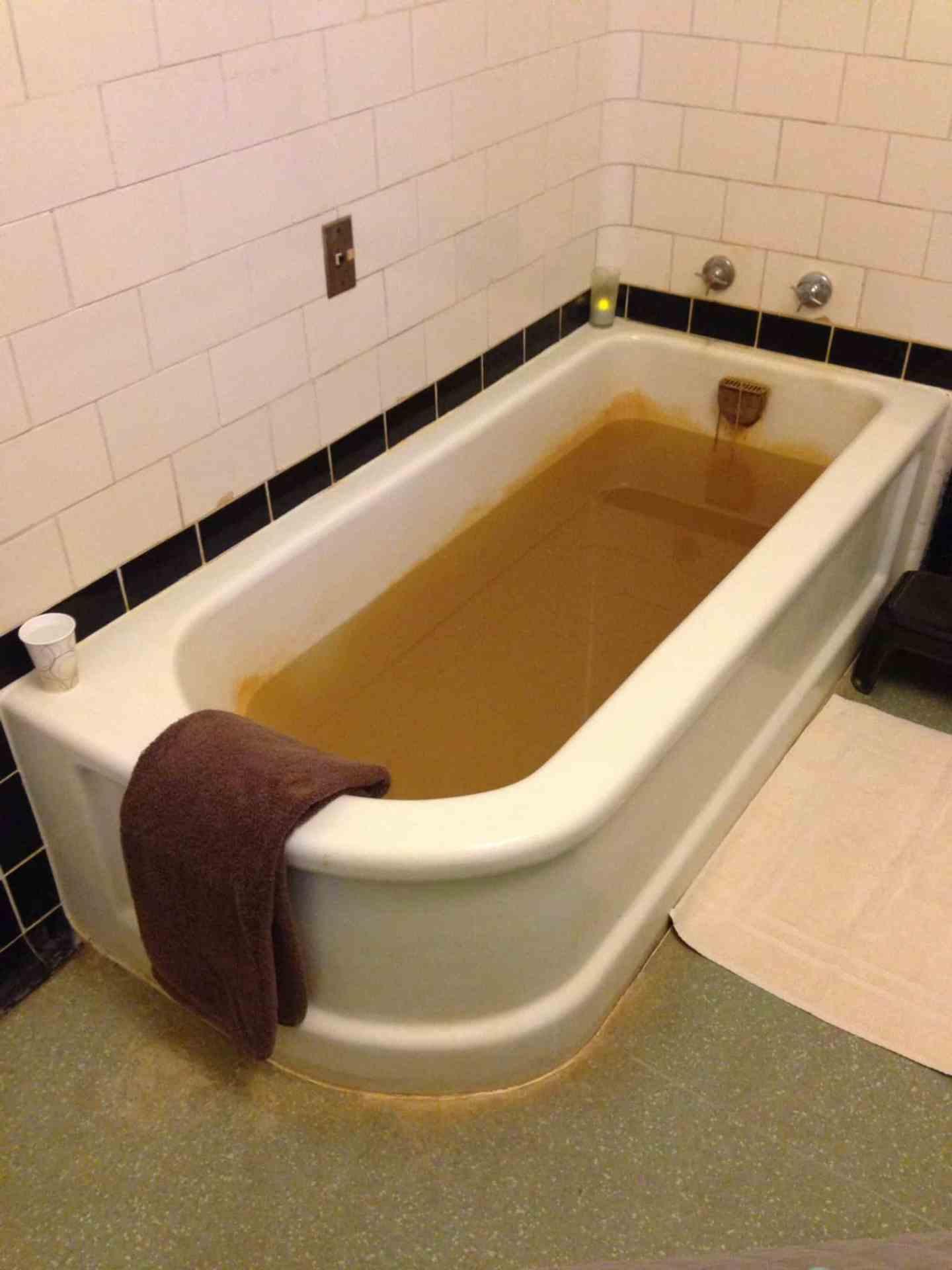 mineral bath at Roosevelt spa