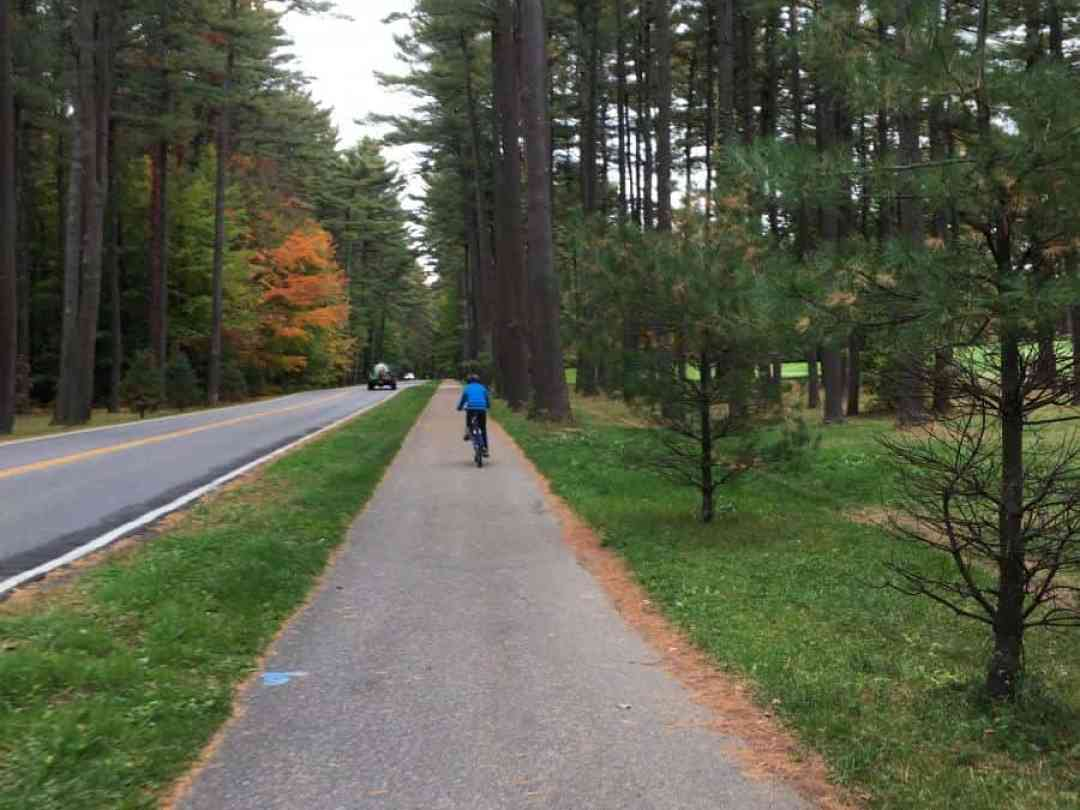 Saratoga Spring State Park in the fall